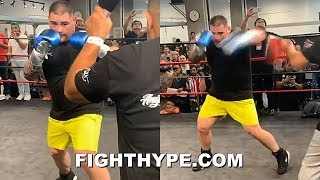 (WOW!) ANDY RUIZ IMPROVED SPEED & POWER; PERFECTING LIGHTS OUT KNOCKOUT COMBO FOR JOSHUA REMATCH