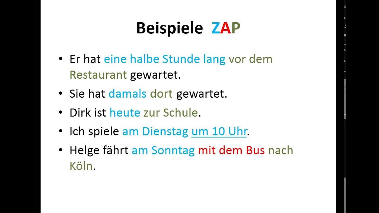 place deutsch
