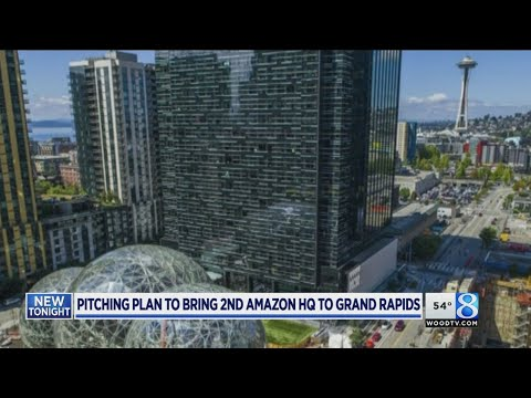 Grand Rapids pursuing Amazon HQ, 50,000 jobs