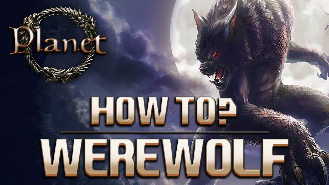 the elder scrolls online how to become a werewolf