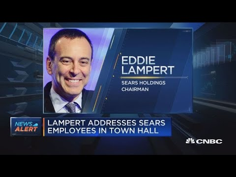 Former Sears CEO comments on company's bankruptcy filing