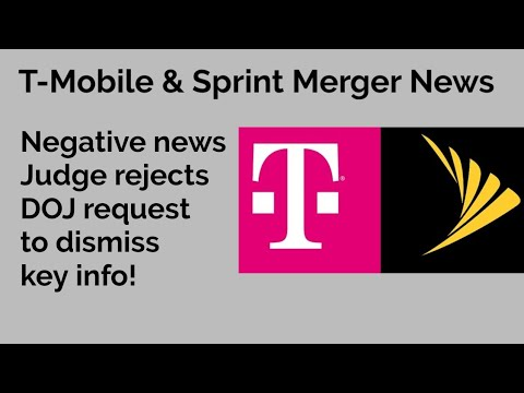 T-Mobile And Sprint Merger: News That Hurts The Merger!