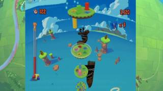 Roogoo Twisted Towers Nintendo Wii video game E3 HD trailer
