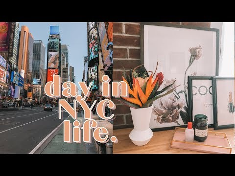 Day In my NYC Life: SHOPPING & FOOD! | Antonnette