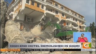 Grand Manor Hotel brought down