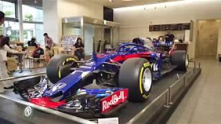 Redbull Toro Rosso Honda F1, Tunggangan Pierre Gasly Di F1 Abu Dhabi 2019 | Honda Welcome Aoyama