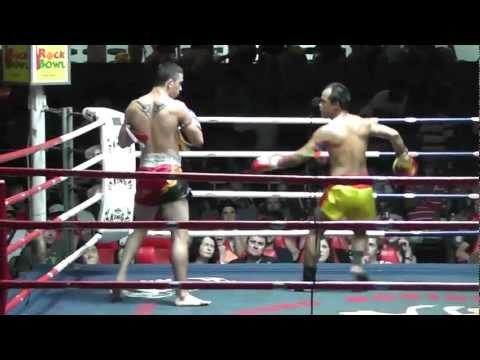 Marco Ruiz Fight in Thailand.