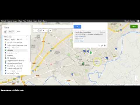 Madrid Google Map