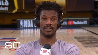 Jimmy Butler reacts to Game 5, says Heat will win Game 6   SportsCenter