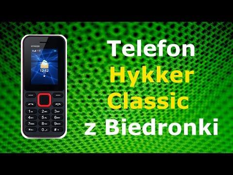 Telefon Hykker Classic z Biedronki (test)