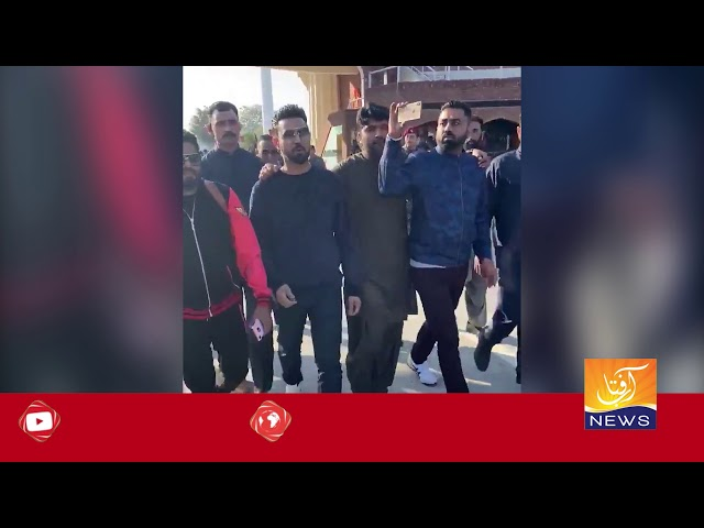 Gippy Grewal Thanks to Pakistan   Aftab News  