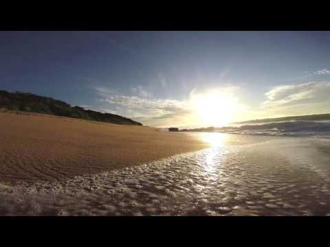 Waves Washing onto The Beach  Africa Travel Channel