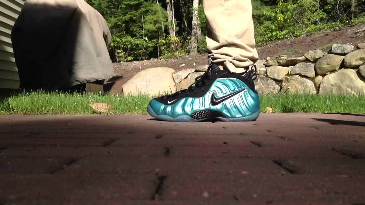 3ad99d5a794 ... germany nike air foamposite pro electric blue on feet 720 hd youtube  9bc4d ca6be