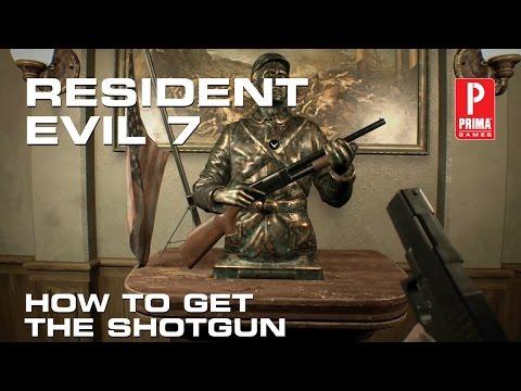 Resident Evil 7 - How to Get the Shotgun
