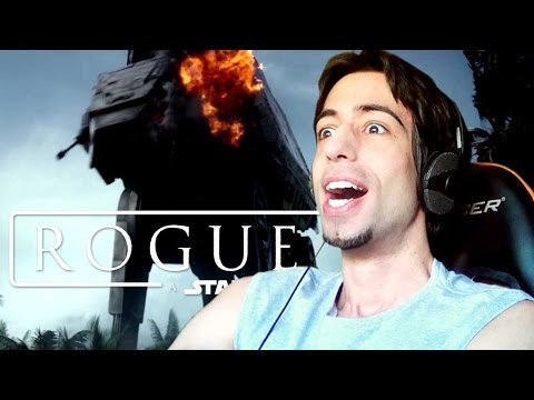 REACTION - ROGUE ONE: A Star Wars Story / Trailer