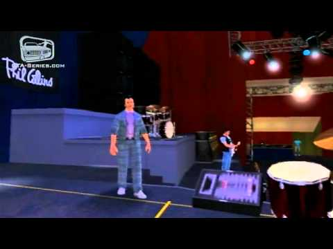 Phil Collins Concert in GTA Vice City Stories
