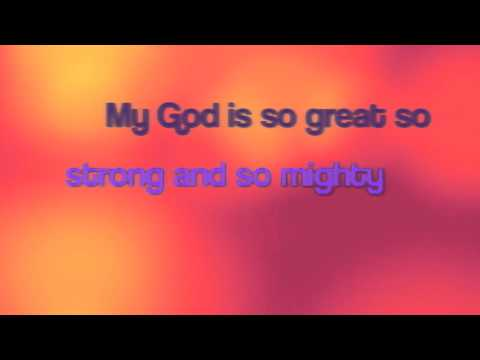 """My God Is So BIG"" Song for Preschool Children"