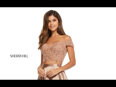 711b28ebfb7 Sherri Hill 52567 Prom Dress - YouTube