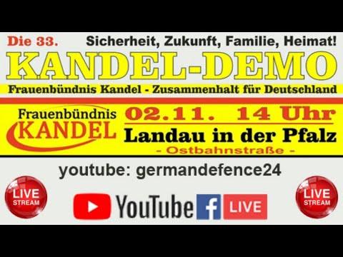 LIVE AUS LANDAU: 33. Demo vom Frauenbündnis Kandel