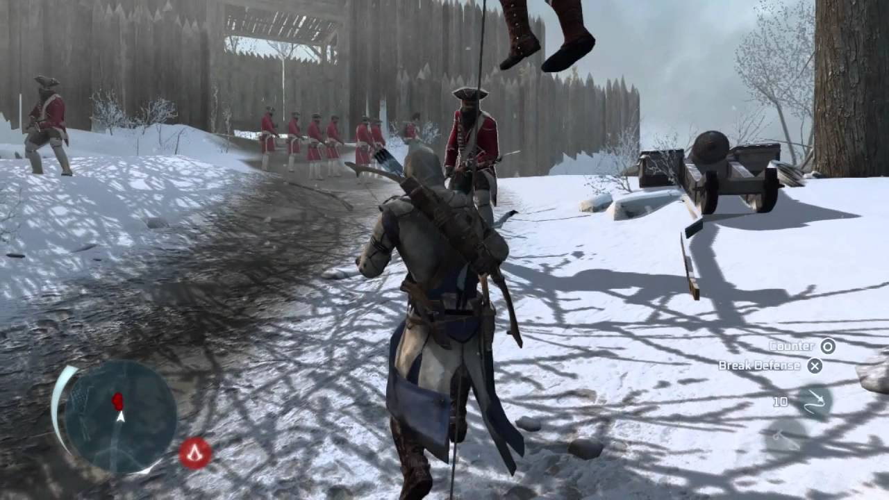 assassin 39 s creed 3 e3 frontier gameplay demo uk youtube. Black Bedroom Furniture Sets. Home Design Ideas