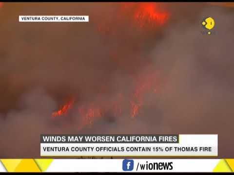 Winds may worsen California fires