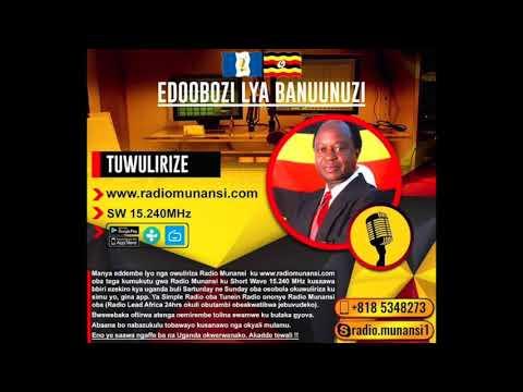 Dr Kiyingi on Radio Munansi 9 Sep 2017: Ekibba Ttaka mu Uganda: Nakyemalira Museveni alina kuvaako