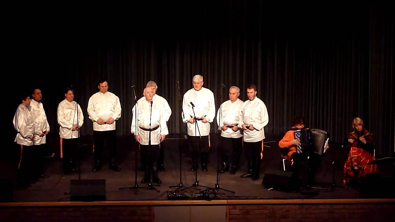 Peter Orloff und der Schwarzmeer Kosaken-Chor in der Ohligser Festhalle in Solingen. November 2012
