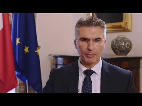 Minister Carmelo Abela Message