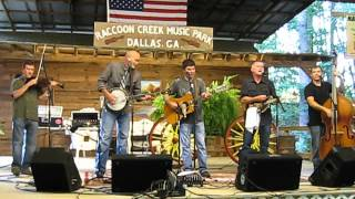 Lonesome River Band (Fireball Mail) Raccoon Creek Bluegrass Festival, July 2012