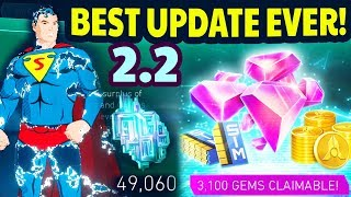 Injustice 2 Mobile 2.2 Update Review. New Characters, LEVEL 70, New Growth Pack! All Changes Review.