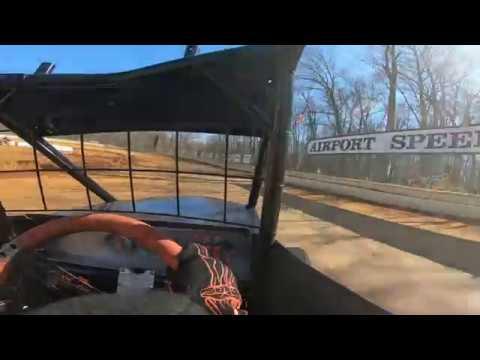 600 Micro Sprint Practice @ Airport Speedway