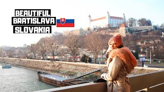 Unexpected Bratislava! Slovakia is Europe's HIDDEN Gem! | Must do in 2020