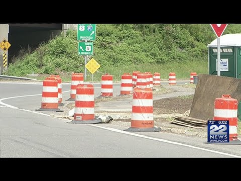 Road work, lane closures scheduled in Agawam rotary area