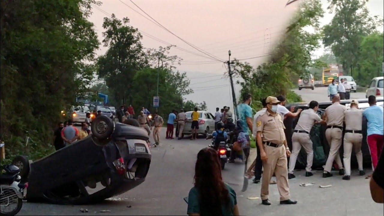 Accident Kar k Bhaag Gaye😨Road Rage In Himachal Pradesh