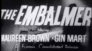 IL MOSTRO DI VENEZIA - THE EMBALMER  (1964) Trailer Statunitense