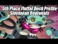 5th Place Fluffal Deck Profile Slovenian Regionals by Franc Križa
