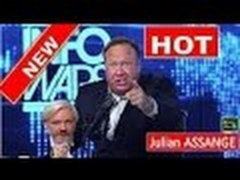 Alex Jones Goes Off On Julian Assange (HOT)