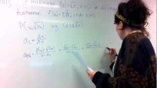 Clara om sej differentialregning