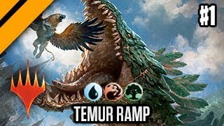 MTG Arena - Bo3 Constructed - Experimenting with Temur Ramp Monsters