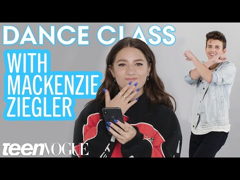 Mackenzie Ziegler Teaches Sage Rosen the Biggest Dance Moves on Tik Tok  Teen Vogue