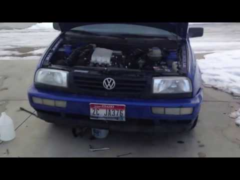 DIY: how to change thermostat on a mk3 jetta / golf / gti vw 2.0