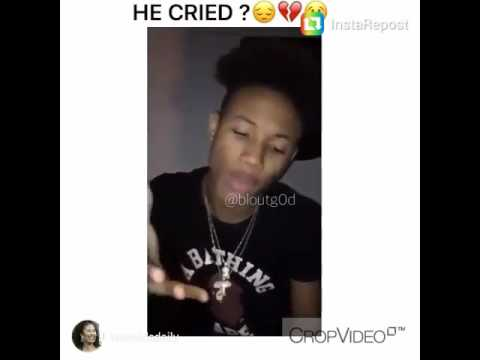 Guy Cries Trying To  Rap😭
