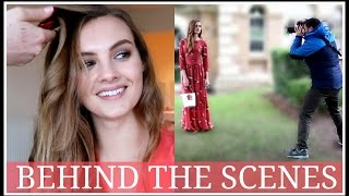 PHOTOSHOOT Behind The Scenes | Niomi Smart VLOG