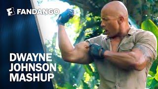 Dwayne Johnson Movie Mashup | Fandango All Access