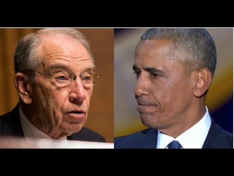 GRASSLEY HOLDS DAMNING EVIDENCE THAT COULD LINK OBAMA DIRECTLY TO #SPYGATE!