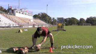 Max Loeb, Long Snapper, First Round, Prokicker.com National Kicking Championships