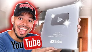 YOUTUBE 100K PLAQUE UNBOXING! 🎉 VLOG | Jeremy Lynch