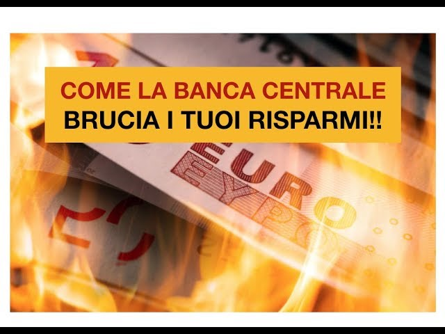 COME SVALUTANO I TUOI RISPARMI: La TASSA OCCULTA delle Banche centrali