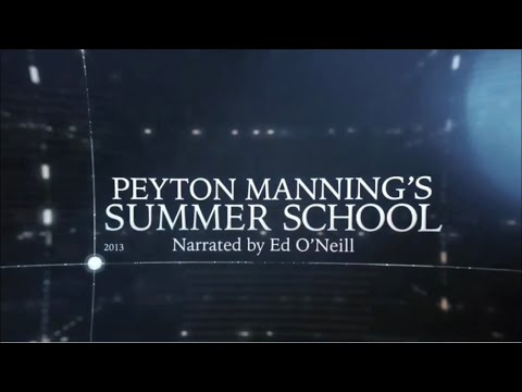 The Timeline: Peyton Manning's Summer School