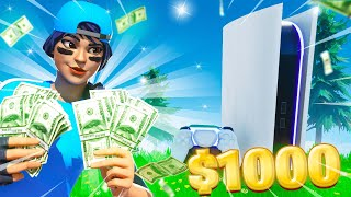 Whatever You Build, I'll Buy it challenge in Fortnite... #3